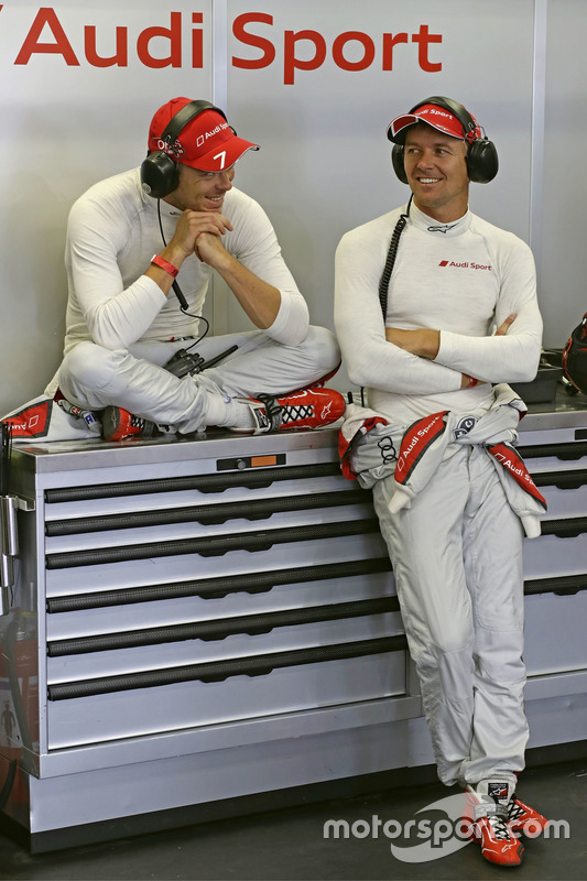 #7 Audi Sport Team Joest Audi R18: Marcel Fassler, Andre Lotterer