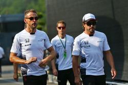 Дженсон Баттон, McLaren и Фернандо Алонсо, McLaren