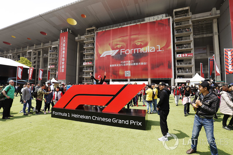 Chinese Grand Prix in the paddock