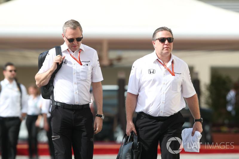 Zak Brown, directeur exécutif du McLaren Technology Group