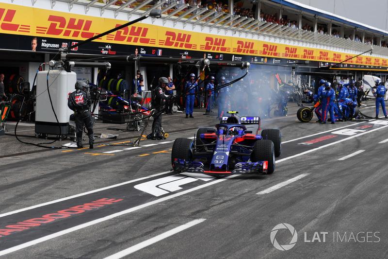 Pierre Gasly - Scuderia Toro Rosso: 6