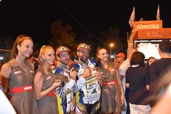 Husqvarna #42, Maurizio Gerini e KTM #41, Alessandro Ruoso