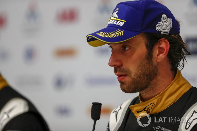 Jean-Eric Vergne, Techeetah in the post race press conference