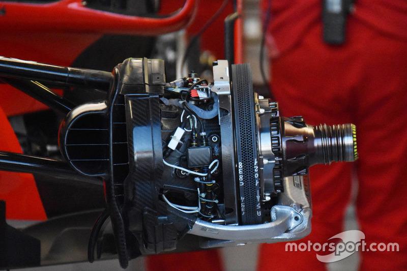 Передние тормоза Ferrari SF71H