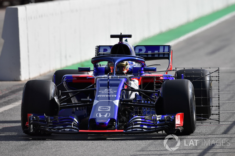 Sean Gelael, Scuderia Toro Rosso STR13 dilengkapi sensor aerodinamika