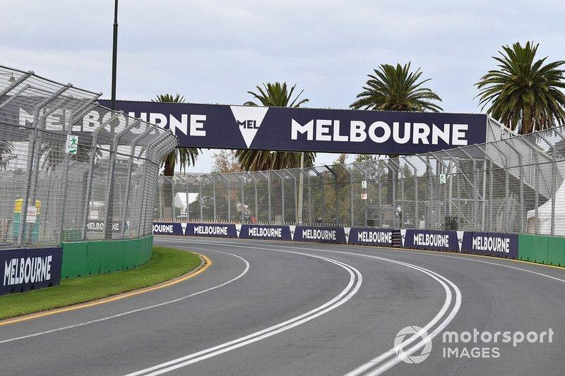 Melbourne circuit detail