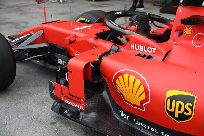 Ferrari SF90: Windabweiser