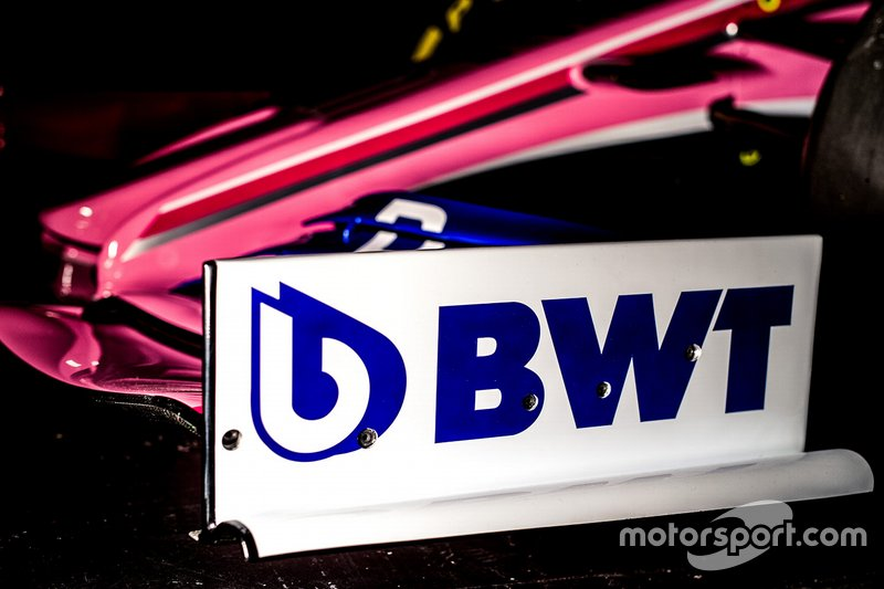 Racing Point livery with BWT logo