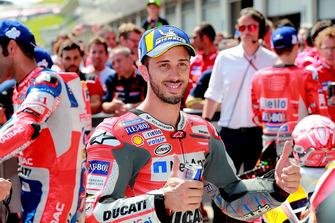 Segundo Andrea Dovizioso, Ducati Team