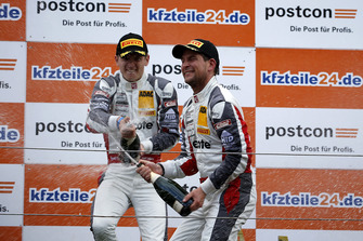 Podium: #99 Precote Herberth Motorsport Porsche 911 GT3 R: Robert Renauer, Mathieu Jaminet