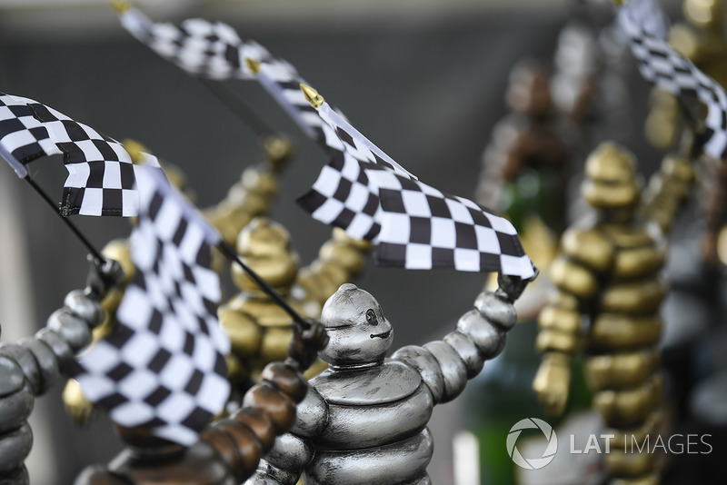 Trofeos de Michelin.