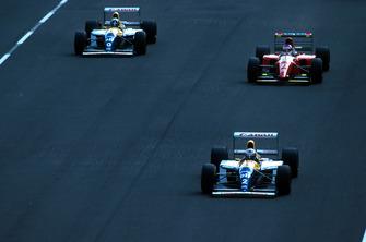 Alain Prost, Williams ve Jean Alesi, Ferrari ve Damon Hill, Williams