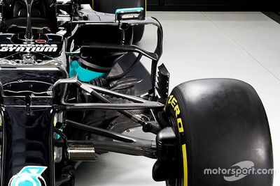 Mercedes W12 onthulling