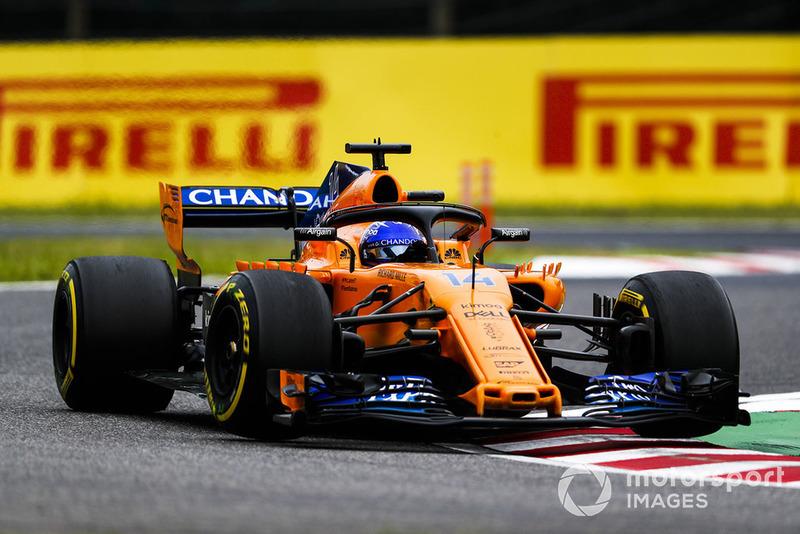 18. Fernando Alonso, McLaren MCL33