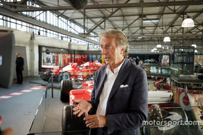 Michael Schumacher F1 car museum display