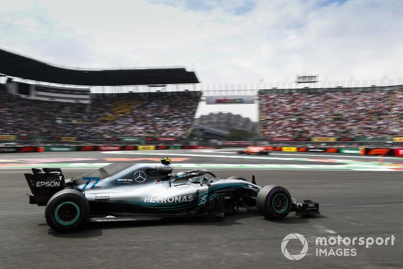 P5: Valtteri Bottas, Mercedes AMG F1 W09