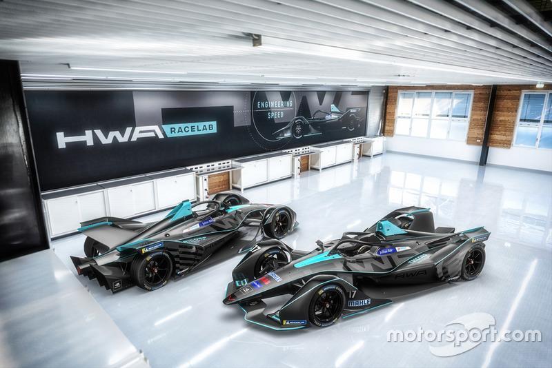 HWA Racelab livery unveil
