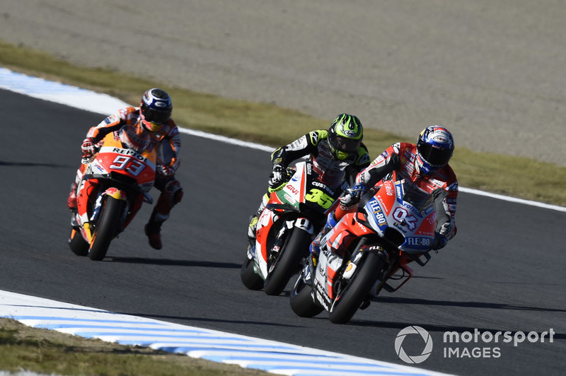 Марк Маркес, Repsol Honda Team, , Кел Кратчлоу, Team LCR Honda, Андреа Довіціозо, Ducati Team