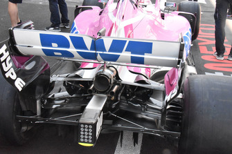 Racing Point Force India VJM11 rear detail