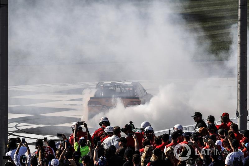 1. Kyle Larson, Chip Ganassi Racing Chevrolet