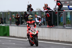 Chaz Davies, Ducati Team takes the win