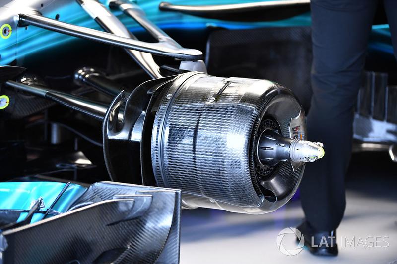 Барабан переднього колеса Mercedes-Benz F1 W08