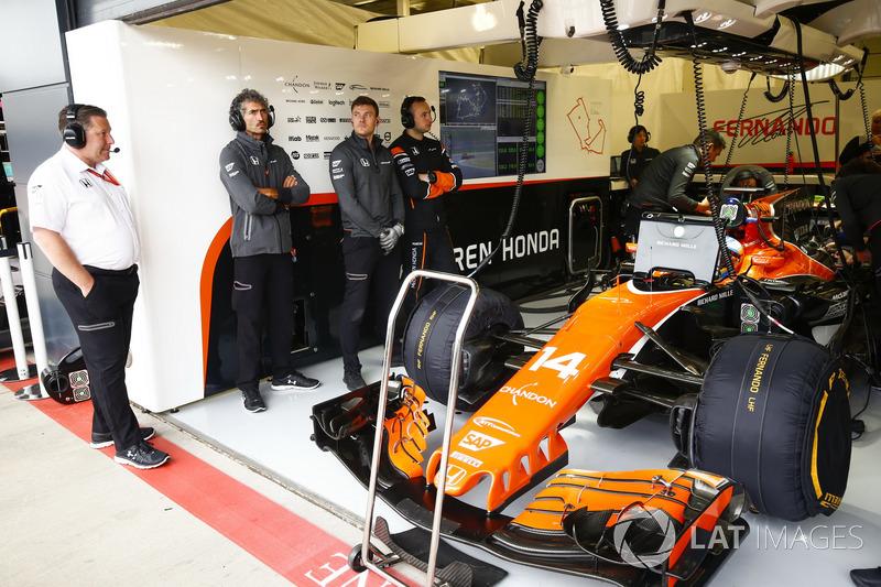 Виконавчий директор McLaren Technology Group Зак Браун