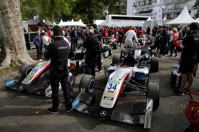 Jake Hughes, Hitech Grand Prix, Dallara F317 - Mercedes-Benz, Nikita Mazepin, Hitech Grand Prix, Dallara F317 - Mercedes-Benz