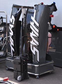La carrosserie de la Haas F1 Team VF-17