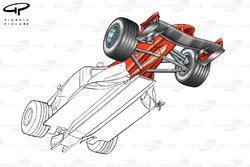 DUPLICATE: Ferrari F2001 underside