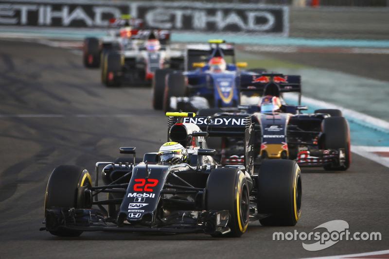 Abandon - Jenson Button (McLaren-Honda)