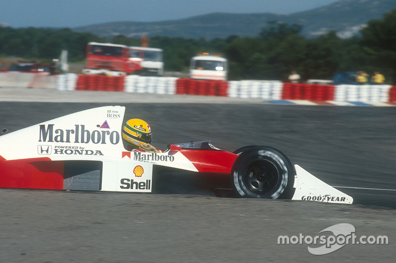 Ayrton Senna, McLaren MP4/5B Honda