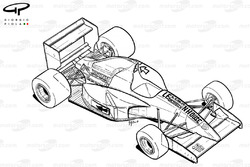 Leyton House CG911 1991 overview