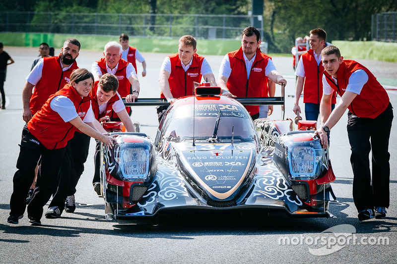 #37 DC Racing, Oreca 07 Gibson: David Cheng, Alex Brundle, Tristan Gommendy