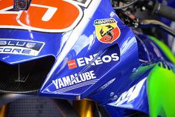 Verkleidung am Bike von Maverick Viñales, Yamaha Factory Racing