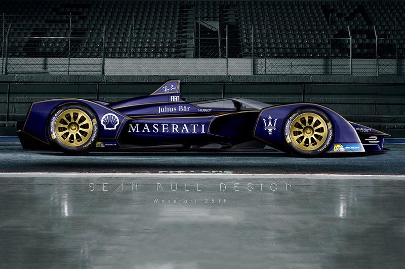 Representación Fantasy Maserati Fórmula E