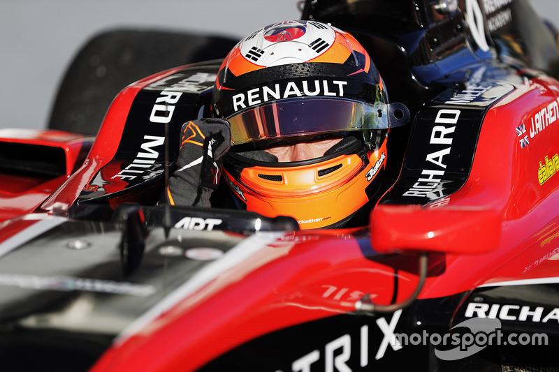 Ganador de la carrera Jack Aitken, ART Grand Prix