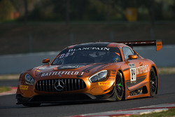 #84 AMG Team HTP Motorsport Mercedes AMG GT3: Франк Перера, Максі Бюк, Джиммі Ерікссон