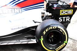 Williams FW40, rear side
