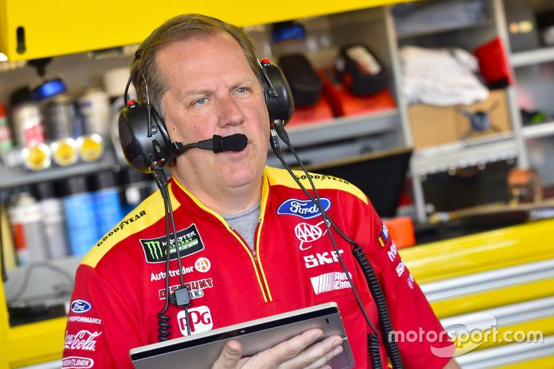 Todd Gordon, jefe de equipo de Joey Logano, Team Penske Ford