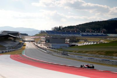 Red Bull Ring maart test