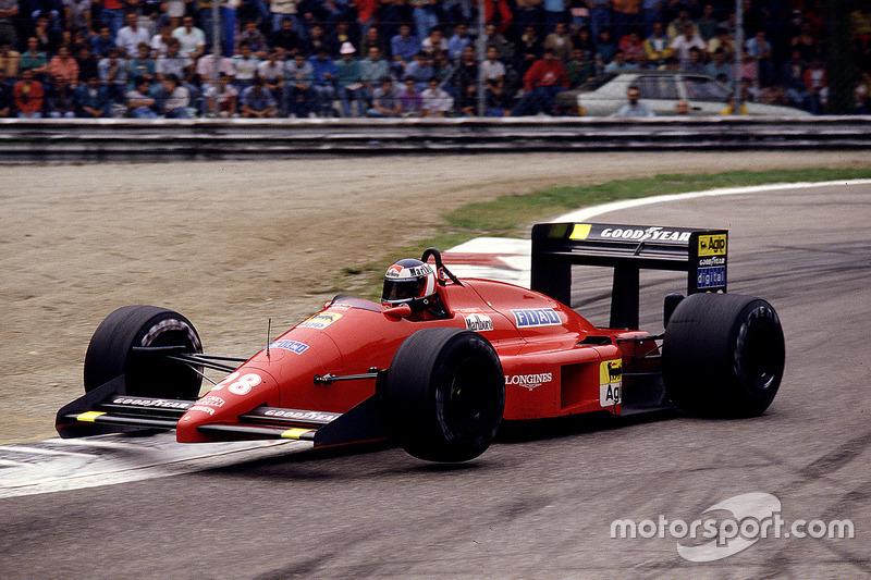 1987 : Ferrari F187 (две победы, 4-е место в КК)