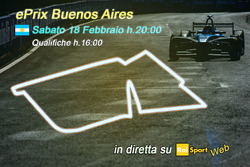 ePrix di Buenos Aires, la locandina RAI