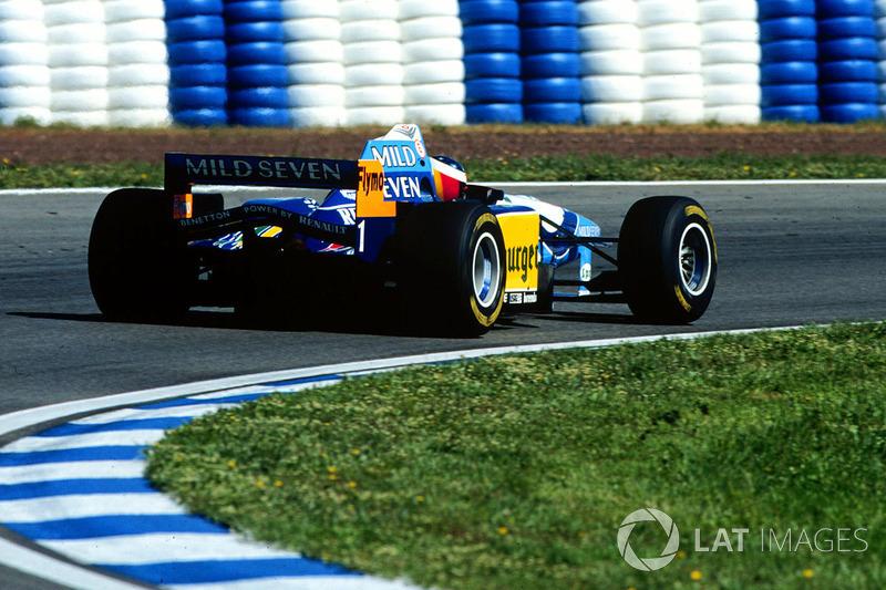 1995 Spanish GP, Benetton B195