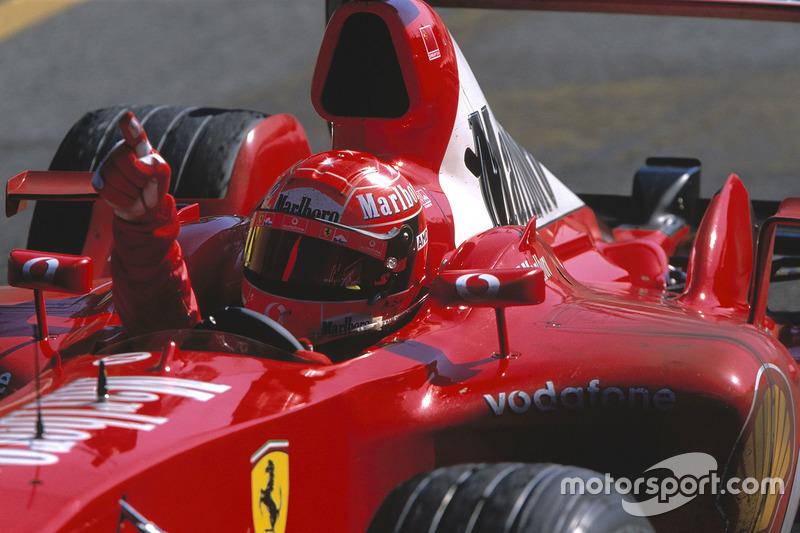 2003 İtalya GP, Ferrari F2003-GA