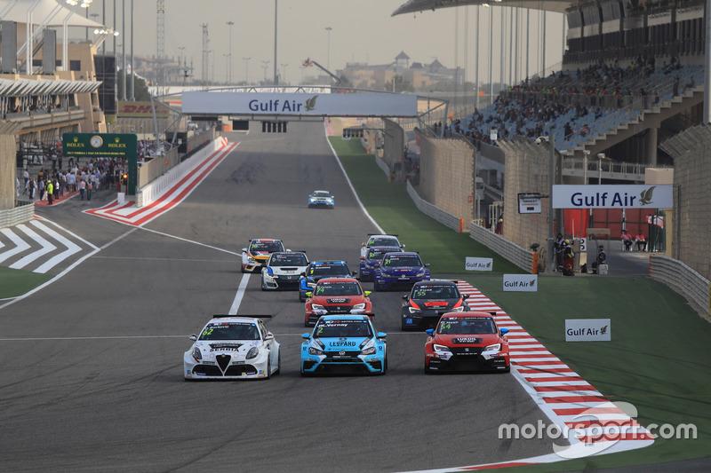 Dusan Borkovic , GE-Force, Alfa Romeo Giulietta TCR leads