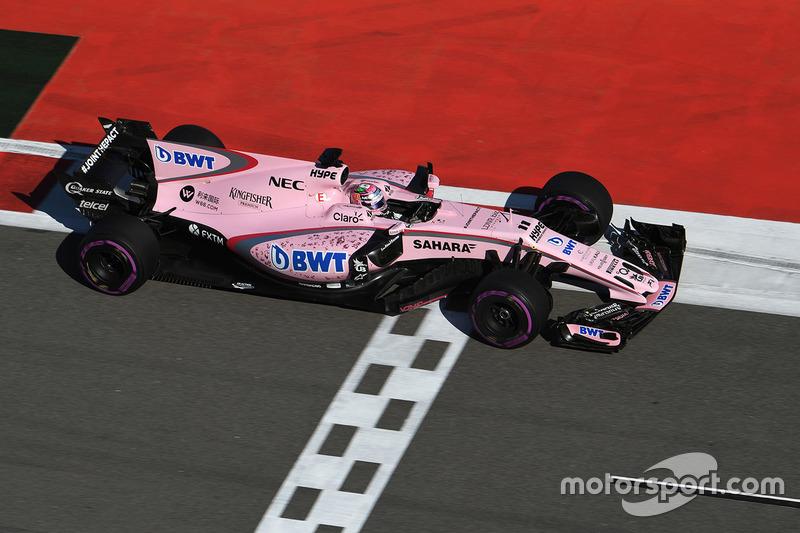 Sergio Perez, Sahara Sahara Force India F1 VJM10