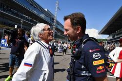 Берні Екклстоун, керівник Red Bull Racing Крістіан Хорнер