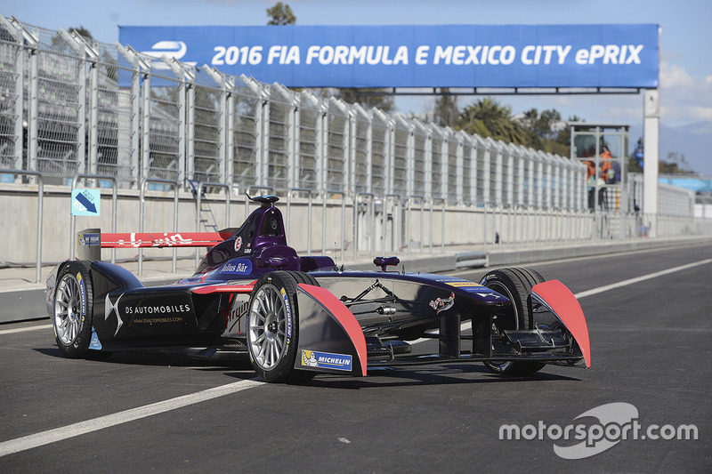 Das Auto von Sam Bird, DS Virgin Racing Formula E