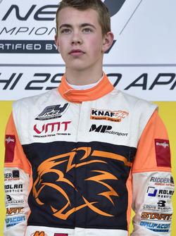 Podium: Race winnaar Richard Verschoor
